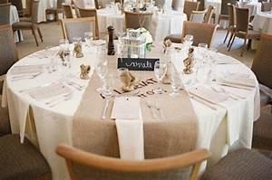 Nappe Table Ronde : decoration mariage table ronde ~ Teatrodelosmanantiales.com Idées de Décoration