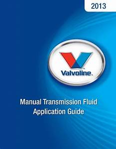 Manual Transmission Fluid Application Guide