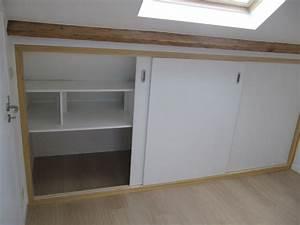 Meuble Pour Sous Pente : meubles pour sous pente maison design ~ Melissatoandfro.com Idées de Décoration