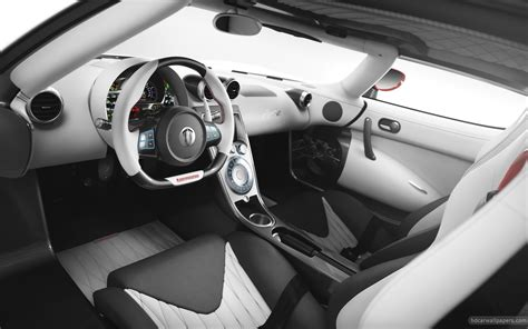 2012 Koenigsegg Agera R Interior Wallpaper