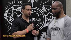 Ifbb Bodybuilding Legend Chris Cormier At The 2019 Npc Muscle Contest Challenge   La Fit Expo