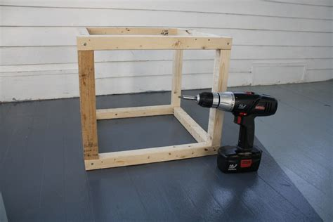 How To Build An Ottoman Frame by Building A Diy Ottoman Frame Volume 1 Of 3 Merrypad