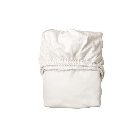 lot de 2 draps housse pour berceau leander blanc leander