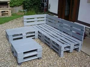 meuble de jardin avec palette en bois newsindoco With meuble de jardin avec palette en bois