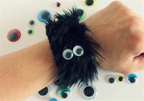 furry monster googly eye bracelets   takes