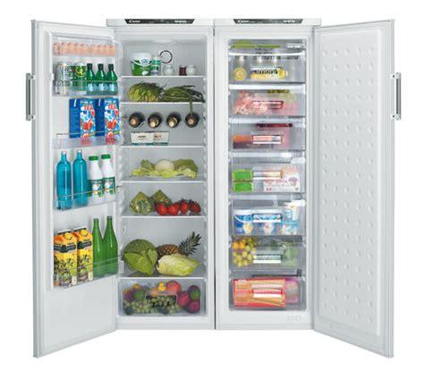 tiroirs cuisine frigo congélateur grand espace
