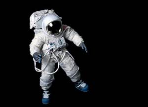 Dead Astronaut Floating in Space - Pics about space