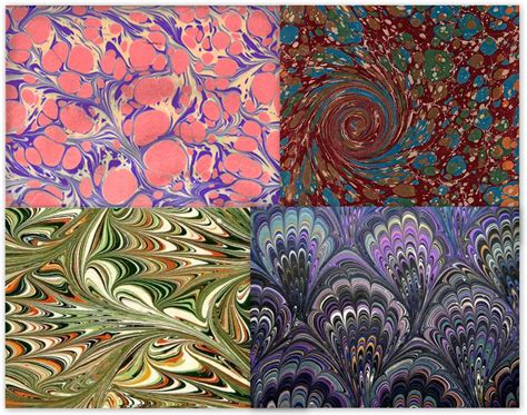 paper zone inspiredesigncreate paper marbling