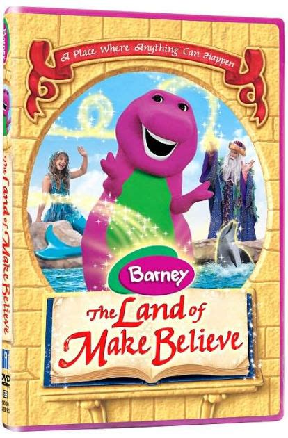Barnes And Noble Dvd by Barney The Land Of Make Believe 884487106321 Dvd