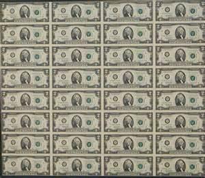 100 Dollar Bill Sheet