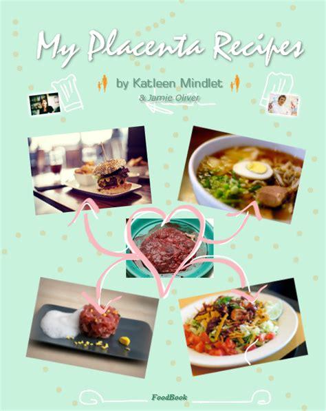 un livre de recettes pour cuisiner placenta darons