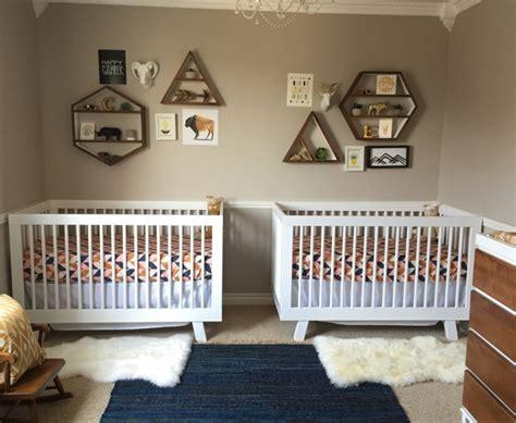 chambre jumeaux meubler decorer chambre bebe jumeaux accueil design et