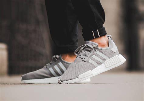 Adidas Nmd R1 Light Grey June Release Info Sneakernews Com