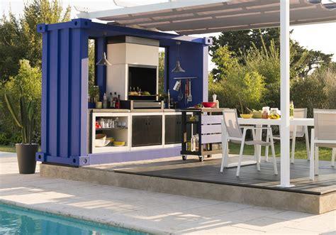 cuisine de jardin en cuisine extérieure 15 modèles pratiques et esthétiques