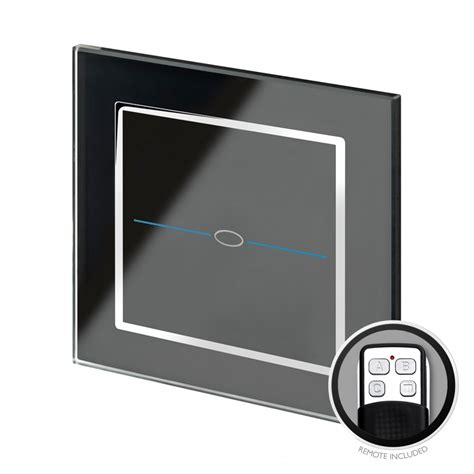 Crystal Led Dimmer Touch Remote Light Switch Gang