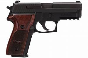 Sig Sauer P229 9mm Centerfire Pistol With Rosewood Grips And Night Sights