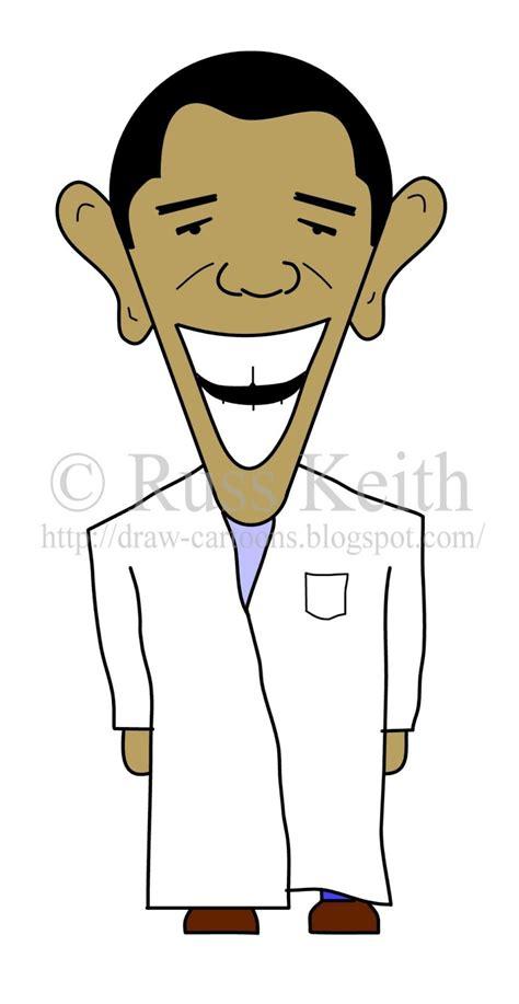 draw cartoons president obama