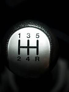 Manual Car Gear Shift Stock Photo  Image Of Closeup
