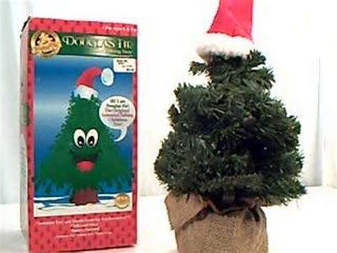 electronic software douglas fir talking christmas tree