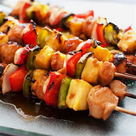 easy grilled teriyaki chicken kebobs best simple healthy