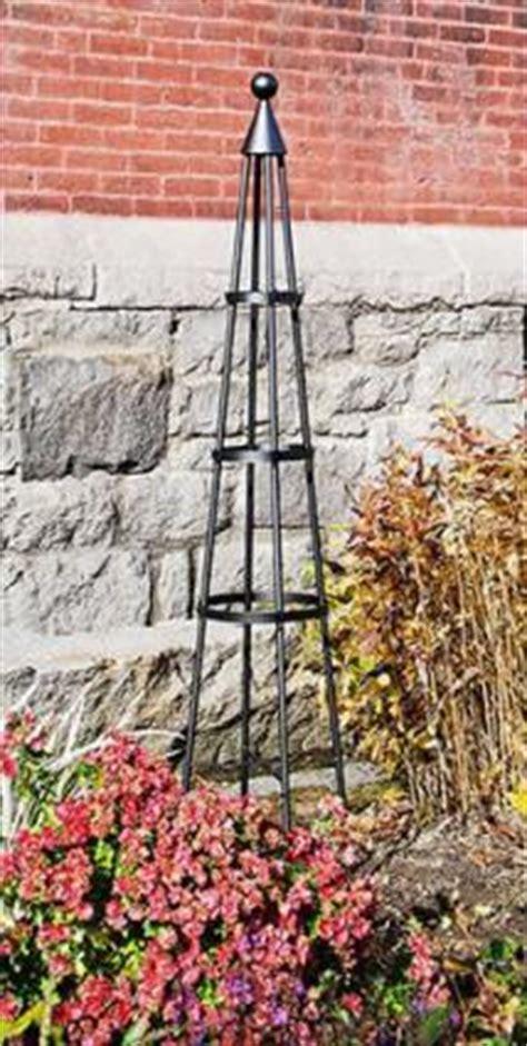 metal garden obelisk wrought iron garden obelisks