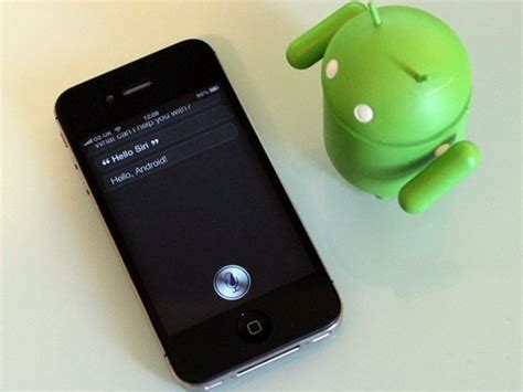 does android siri serions race between apple s siri and s majel