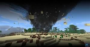 A Minecraft Tornado In Multiplayer