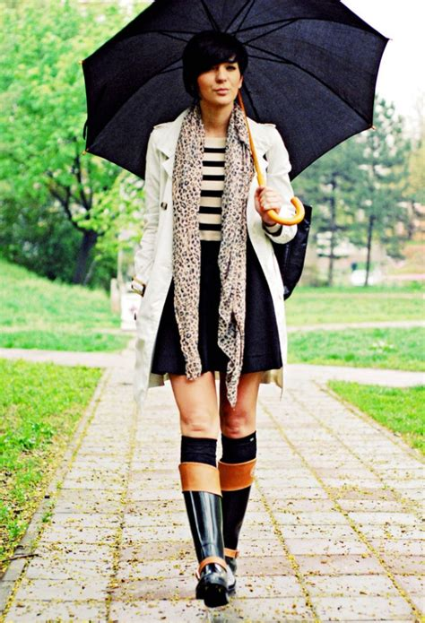Rainy Day Outfits - fashionsy.com
