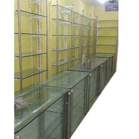 Glass Rack For Shop by Glass Showcase Rack View Specifications Details Of
