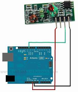 Rf 433mhz Transmitter  Receiver Module With Arduino