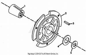 Gravely 38225 Wheel Hub  Hd  2 Wheel Tractor Parts Diagram