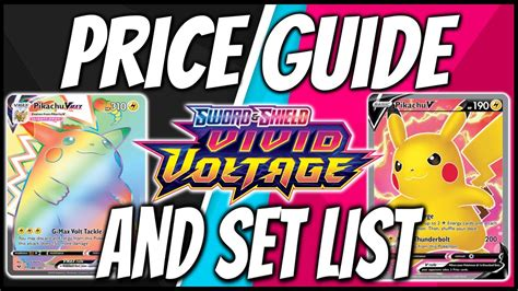 The value of pokemon cards spans a vast range: Official Pokemon Vivid Voltage Set List and Vivid Voltage Card Price Guide. - YouTube