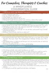 Mindfulness Therapy Worksheets