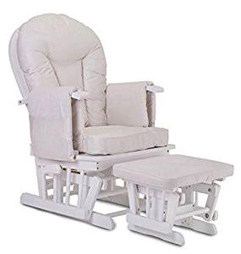 fauteuil bascule bois rocking chair beige allaitement b 233 b 233 avec m 233 canisme verrou repose pied