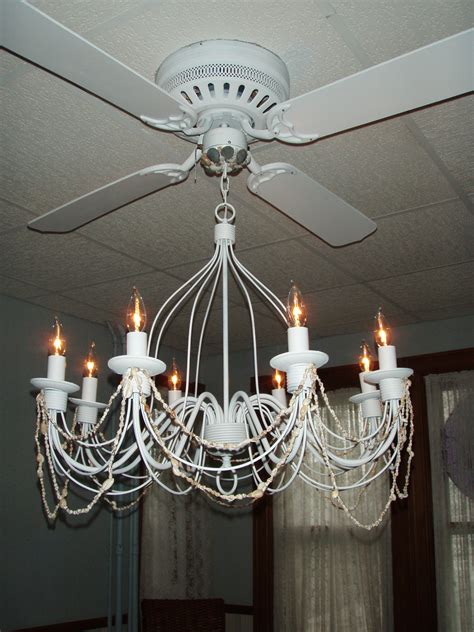 chandelier beautiful ceiling fan  chandelier