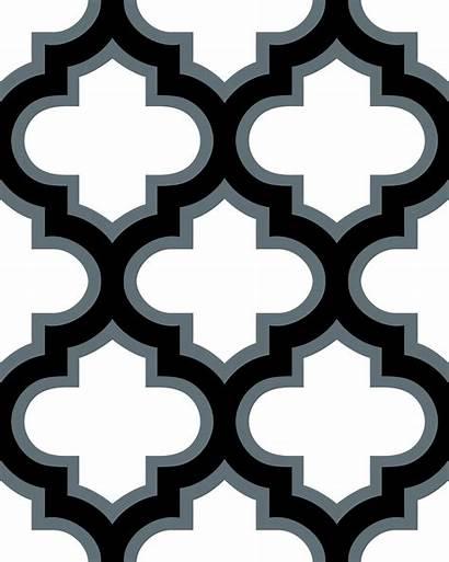 Lattice Clipart Moroccan Tile Mosaic Clip Patterns