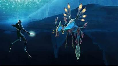Subnautica Zero Below Concept Wallpapers Alien Creatures
