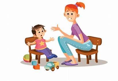 Child Parent Parents Clipart Talking Relationship Misophonia