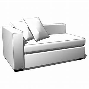 walton sectional 3d model formfonts 3d models textures With west elm walton sectional sofa