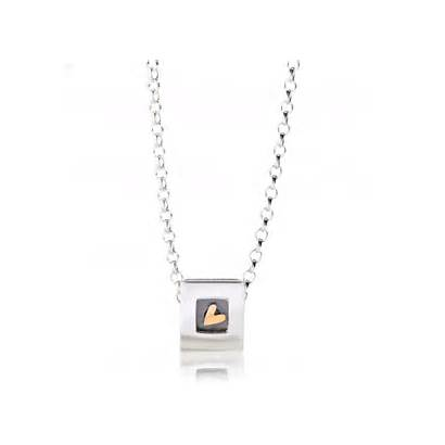 Heart Kinetic Jewelry Pieces Sweetheart Gift Necklace