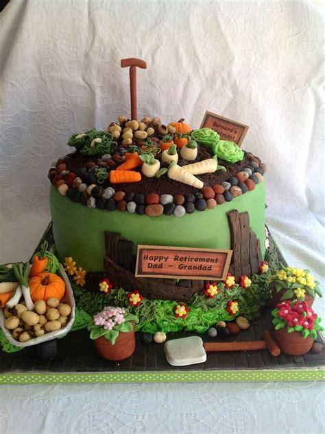 cake garden theme party hearty garden cakes cake