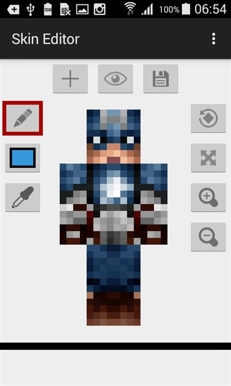 skin editor  minecraft apk  android apps