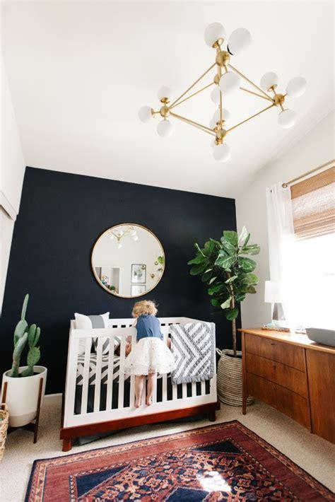 levis nursery reveal baby boy rooms black accent walls