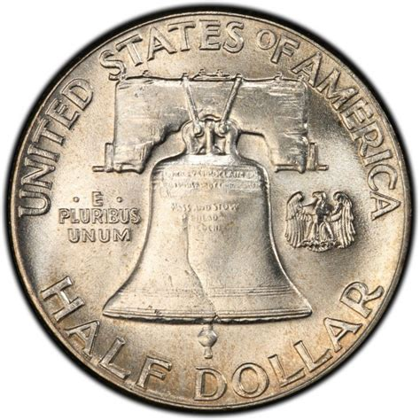 half dollar coin value 1949 franklin half dollar values and prices past sales coinvalues com