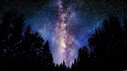 Milky Way Galaxy Sky Night Stars Wallpapers