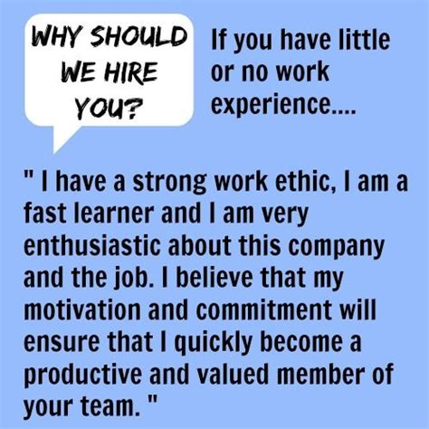 Why Should We Hire You Answers by Why Should We Hire You Search Interviews