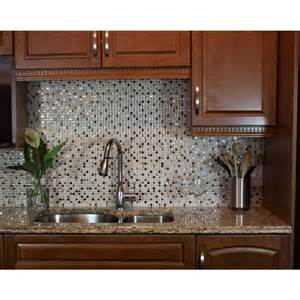 decorative wall tiles kitchen backsplash smart tiles minimo cantera 11 55 in w x 9 64 in h peel and stick decorative mosaic wall tile
