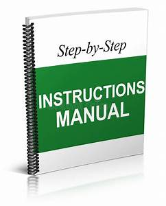 Instructions Manual Stock Photo  Illustration Of