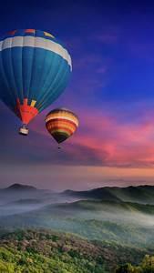 Hot, Air, Balloons, 4k, Wallpaper, Doi, Inthanon, National, Park