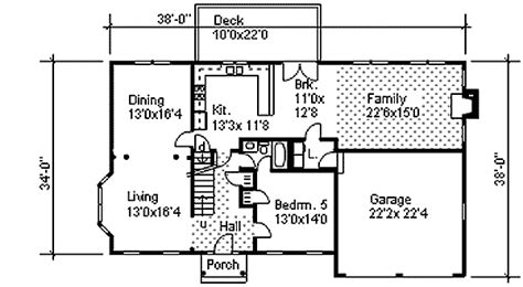 two colonial house plans two colonial with open floor plan 9551dm